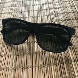 Quay Australia Mandate Black Sunglasses